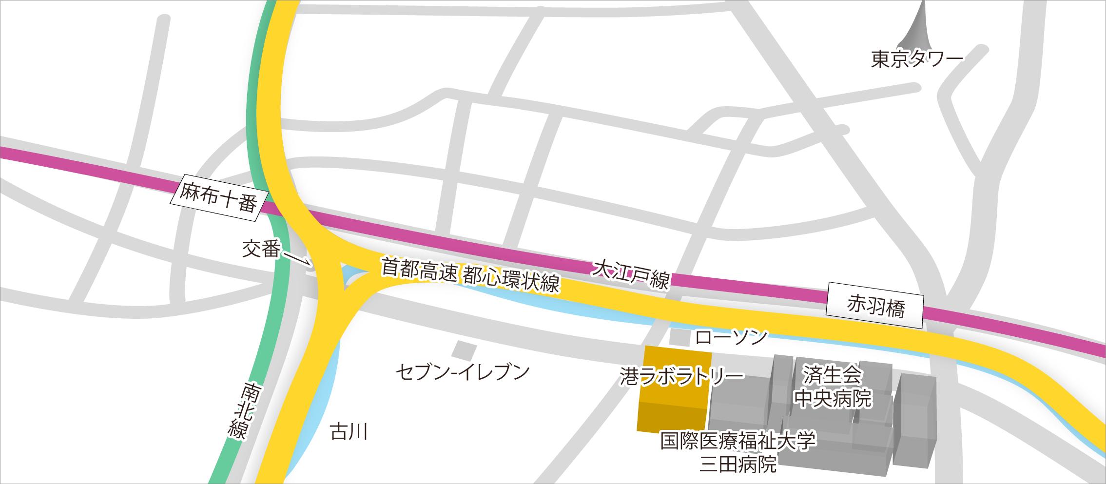 港ラボラトリー(SRL Advanced Lab. Azabu)